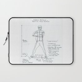 Confidence Drawing, Transitions through Triathlon Laptop Sleeve