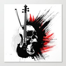 ViolinScull Canvas Print