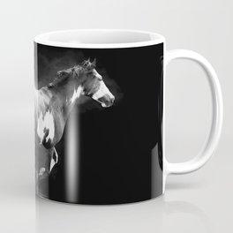 Galloping Pinto Horse Coffee Mug