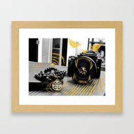 Lions lens Framed Art Print