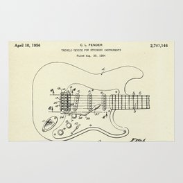 Tremolo Device for Stringed Instruments-1956 Rug