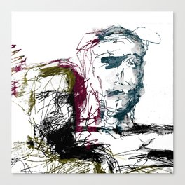 Ego in ego out Canvas Print