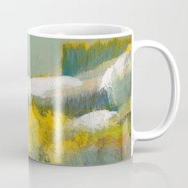 First Snow Landscape Painting / Dennis Weber / ShreddyStudio Coffee Mug
