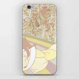 Flower Bed iPhone Skin