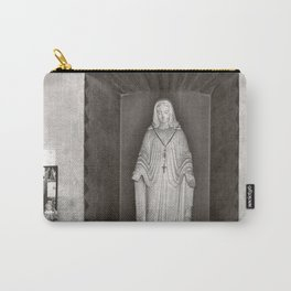 Statue Of The Virgin Mary At The Mission Church San Xavier Del Bac Carry-All Pouch