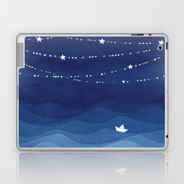 Garland of Stars IV, night sky Laptop & iPad Skin