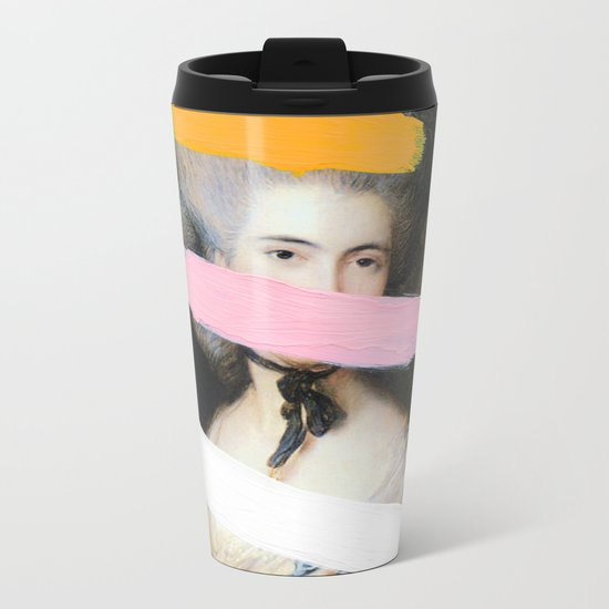 Brutalized Gainsborough 2 Metal Travel Mug