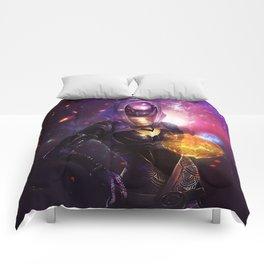 Tali'Zorah vas Normandy (Mass Effect) Art Comforters