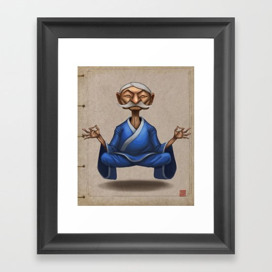 The Old Master Framed Art Print