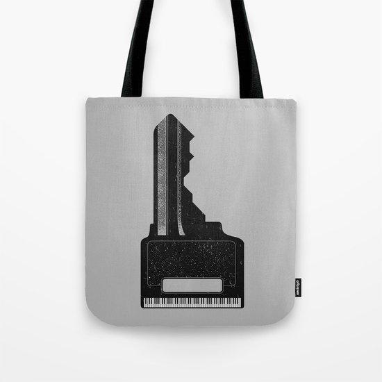 Piano Key. Tote Bag