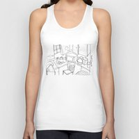 kitchen Tank Tops featuring Kitchen by Frances Roughton