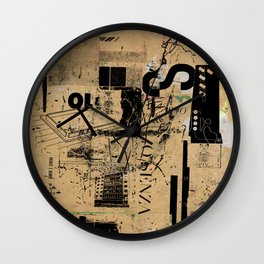 misprint 42 Wall Clock