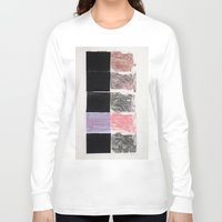 hands Long Sleeve T-shirts featuring HANDS by Brandon Neher