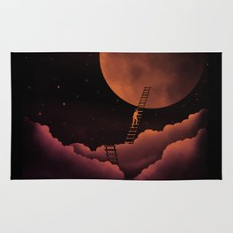 Stairway To the Moon Rug