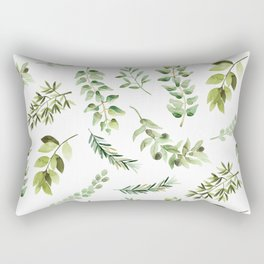 Forest in the Fall Rectangular Pillow