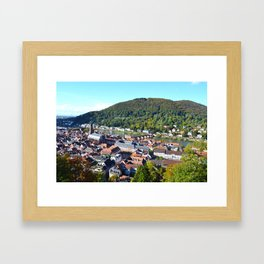 Heidelberg Overlook Framed Art Print