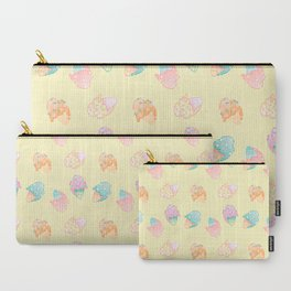 Pastel Melted Ice Cream (yellow) Carry-All Pouch