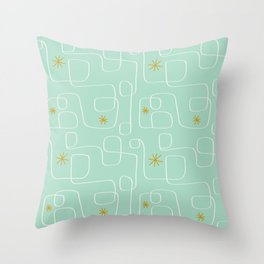 vintage abstract Throw Pillow