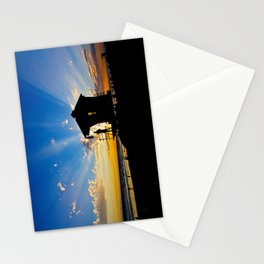 Sunset @ Tower #2     ( 9/7/13 ) Stationery Cards