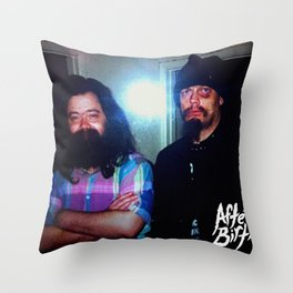 Meeting of the Mindz Throw Pillow