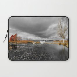 A Moody Winter's Day Laptop Sleeve