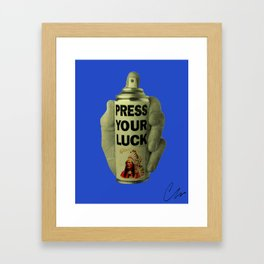 Press Your Luck '16 Framed Art Print