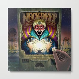 neck deep wishful thinking Metal Print