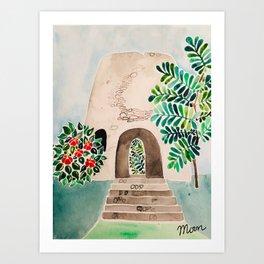 Sugar Mill Art Print