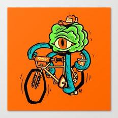 Stranger brain Thing Canvas Print
