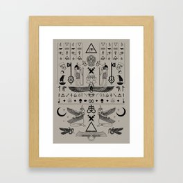 Aliens Bro Framed Art Print