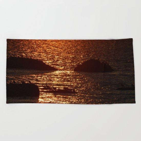 Golden Hour Beach Towel