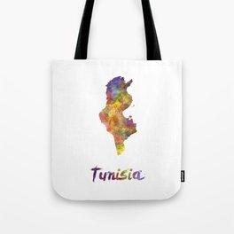 Tunisia in watercolor Tote Bag
