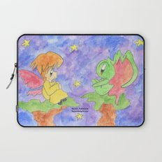 Faerie and Little Monster Laptop Sleeve