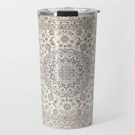 Bohemian Farmhouse Traditional Moroccan Art Style Texture Travel Mug