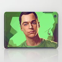bazinga iPad Cases featuring Dr. Cooper No. 2. by Thubakabra