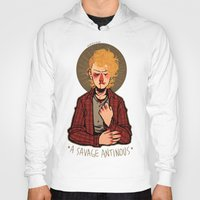 enjolras Hoodies featuring a savage antinous by monsternist