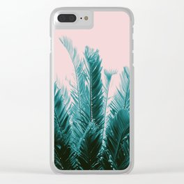 Tropical Leaves Dream #6 #tropical #decor #art #society6 Clear iPhone Case