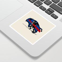 BUFFALO CHARGE Sticker