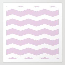 Cute waves Art Print