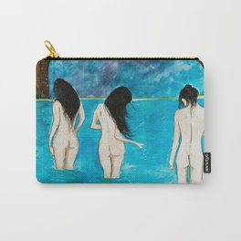 Raven Black Carry-All Pouch