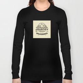 Journey through the Wilderness Long Sleeve T-shirt