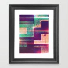 fylss hyryzynz Framed Art Print