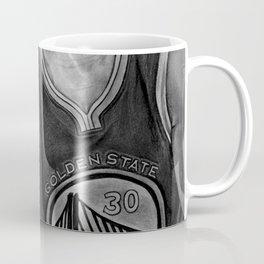 Steph Curry (black and white) Coffee Mug