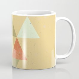 Being Mindful, Geometric Triangles Coffee Mug