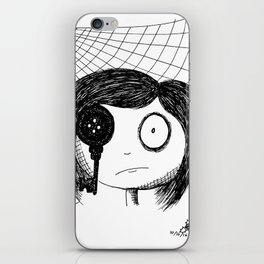 Mirrors are Never to Be Trusted iPhone Skin