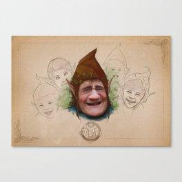Joyful Friends Canvas Print