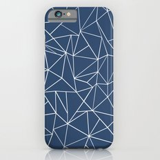 Abstraction Outline Navy iPhone 6s Slim Case