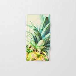 Green Pineapple Hand & Bath Towel