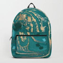 Fluid Gold Backpack