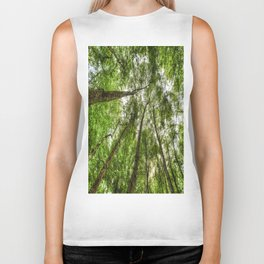 Nature Reaching For The Sky Biker Tank